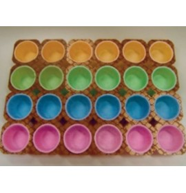 TEGLIE MUFFIN COLOR 10PZ 2...