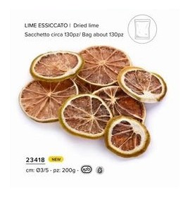 FETTINE LIME ESSICCATO 200GR